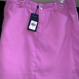 Polo skirt with shorts underneath